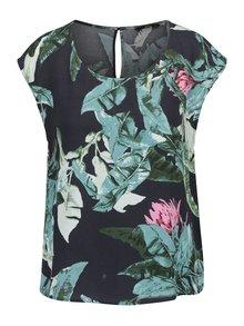 Tricou negru ONLY Elena cu imprimeu floral