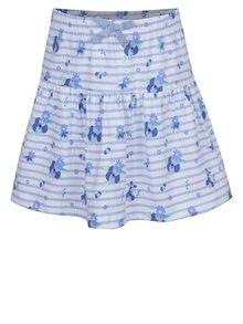 Fustă alb&albastru 5.10.15 cu imprimeu pentru fete