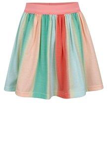 Fustă multicoloră 5.10.15 cu talie elastică pentru fete