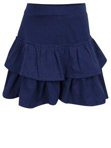 Tmavě modrá holčičí sukně s volány 5.10.15.