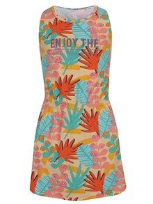 Rochie multicoloră 5.10.15 cu imprimeu pentru fete