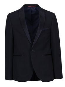 Sacou skinny fit de costum bleumarin Burton Menswear London