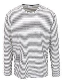 Bluză albă Burton Menswear London în dungi