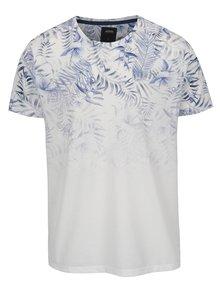 Modro-bílé květované tričko  Burton Menswear London