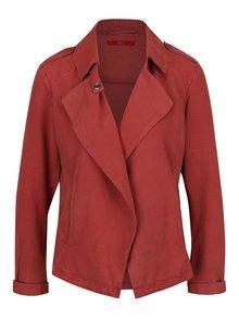 Jachetă roșu cărămiziu s.Oliver cu revere