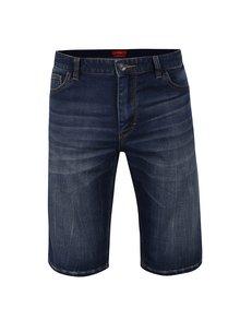 Pantaloni albastru închis s.Oliver cu aspect prespălat
