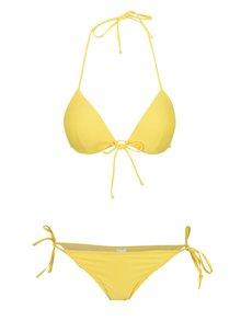 Žluté dvoudílné plavky Relleciga