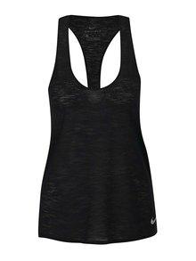 Čierne dámske funkčné tielko Nike