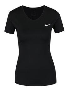 Tricou negru Nike cu logo