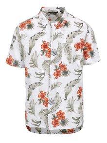 Krémová košeľa s tropickým vzorom ONLY & SONS Alexis