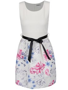 Krémové květované šaty Haily´s Sovia