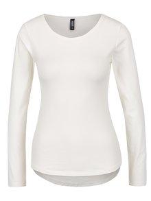 Biele tričko s dlhým rukávom Haily´s Tina