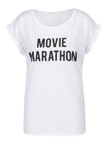 Biele dámske tričko ZOOT Originál Movie Marathon