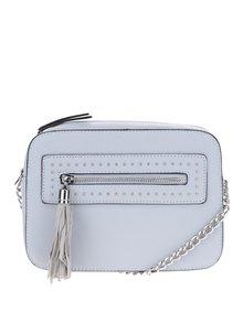 Modrá crossbody kabelka so strapcom Miss Selfridge