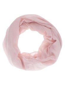 Světle růžový šátek se třpytkami Haily´s Danny
