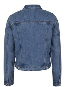 Modrá džínová bunda Miss Selfridge