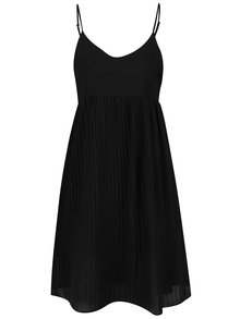 Rochie neagră Haily´s Lina  cu pliuri
