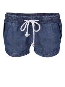 Pantaloni scurți albaștri  TALLY WEiJL   cu talie elastică