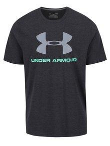 Černé pánské funkční triko s potiskem Under Armour Sportstyle Logo