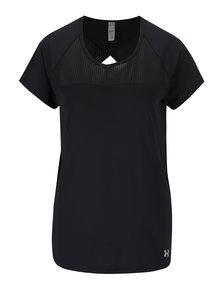 Tricou sport negru Under Armour Fly By pentru femei