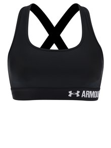 Bustier sport negru Under Armour Crossback