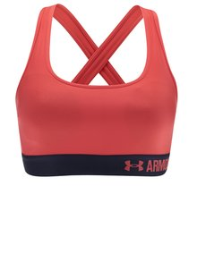 Bustier sport roșu Under Armour Crossback