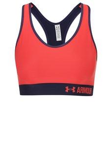 Modro-červená sportovní podprsenka Under Armour Mid 'UA' Graphic