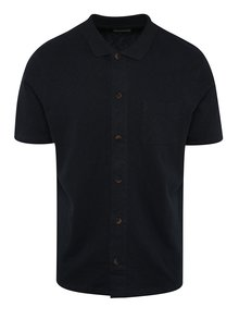 Tricou polo bluemarin  Selected Homme Hras