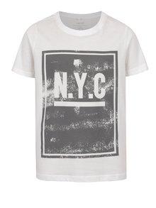 Tricou crem cu print pentru băieți name it Olando