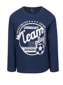 Bluză bleumarin cu print pentru băieți name it Victorhox