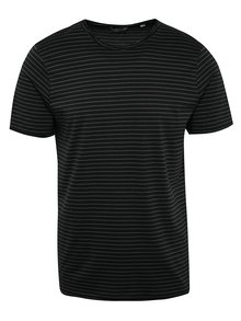 Tricou albastru&negru ONLY & SONS Albert Stripe