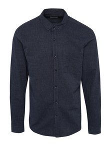 Tmavomodrá pruhovaná košeľa ONLY & SONS Vert
