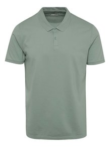 Tricou polo verde deschis Jack & Jones Belfast