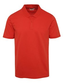 Tricou polo roșu Jack & Jones Belfast