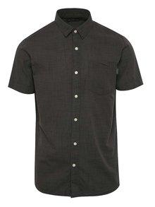 Tmavě šedá vzorovaná košile Jack & Jones Resort