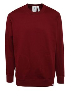 Bluza burgundi adidas Originals X By