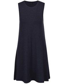 Tmavomodré basic šaty bez rukávov ONLY Moster