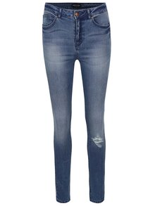 Modré skinny džíny ONLY Pearl