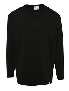 Čierne pánske tričko s dlhým rukávom adidas Originals XBYO