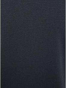 Tricou bleumarin cu decolteu en coeur Jack & Jones Basic