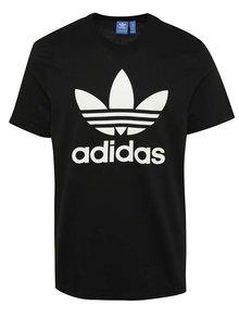 Černé pánské triko s krátkým rukávem adidas Originals