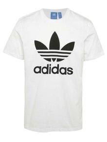 Biele pánske tričko s krátkym rukávom adidas Originals