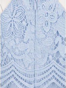 Rochie maxi bleu cu aplicatie din dantela  Chi Chi London Trish
