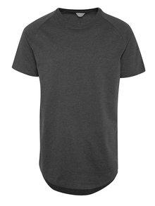 Sivé tričko s krátkym rukávom Jack & Jones Corafe