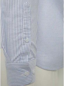 Camasa alb-albastru slim fit Selected Homme One Victor