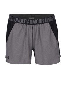 Pantaloni scurți negru&gri Under Armour UA Play Up pentru femei