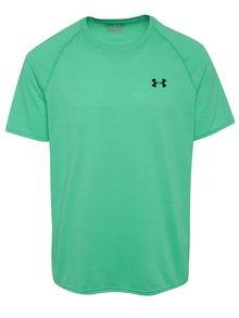 Tricou sport verde Under Armour Tech SS Tee pentru bărbați
