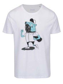 Biele pánske tričko s potlačou ZOOT Originál