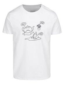 Bílé pánské triko Jsem vylitej ZOOT Originál