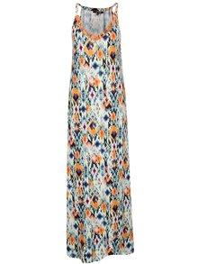 Rochie maxi multicoloră fără mâneci Yest